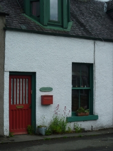 The front of our wee home...